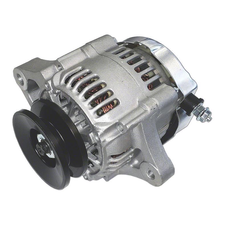ford 861 12 volt wiring diagram abc3551 mini 35 amp 12 volt negative ground alternator with pulley  12 volt negative ground alternator