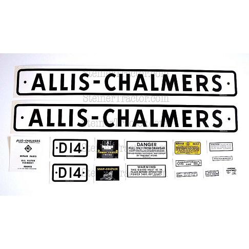Allis-Chalmers Vinyl Decal