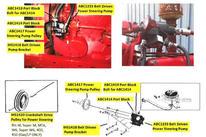 Front Wheel Bearing Kit-IH Farmall M MD SUPER M MTA 300 400 450 Heavy  Equipment, Parts & Attachments Tractor PartsReal Capital Investments