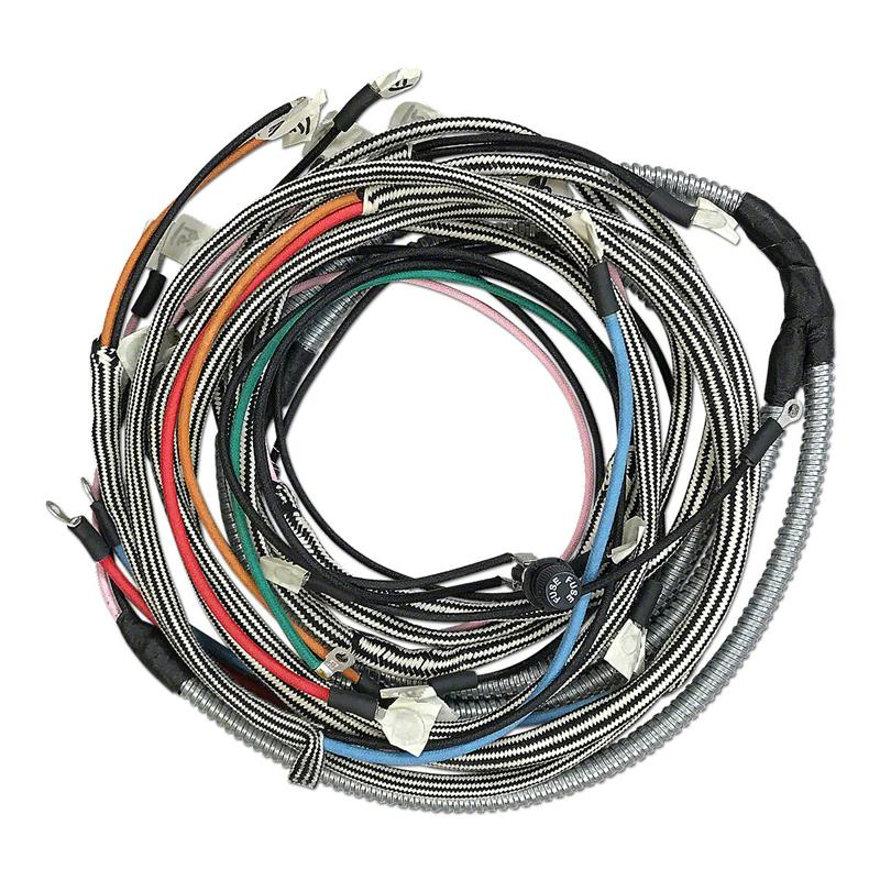 Ihs3807 Farmall 300 Restoration Quality Wiring Harness