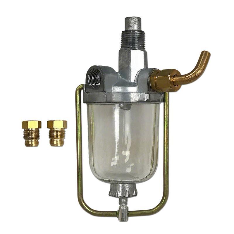 [DIAGRAM_3US]  IHS713 All-Fuel Sediment Bowl | Sediment Bowl Fuel Filter |  | Kuhn's Tractor Parts