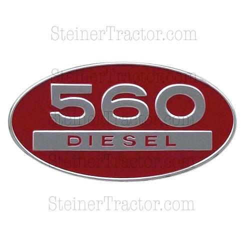 IHS718 International 560 Diesel Side Emblem