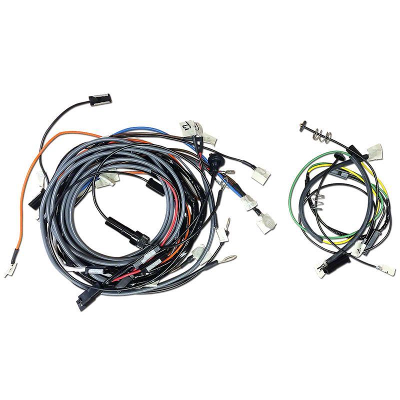 JDS3591 John Deere 3010 Restoration Quality Wiring Harness on