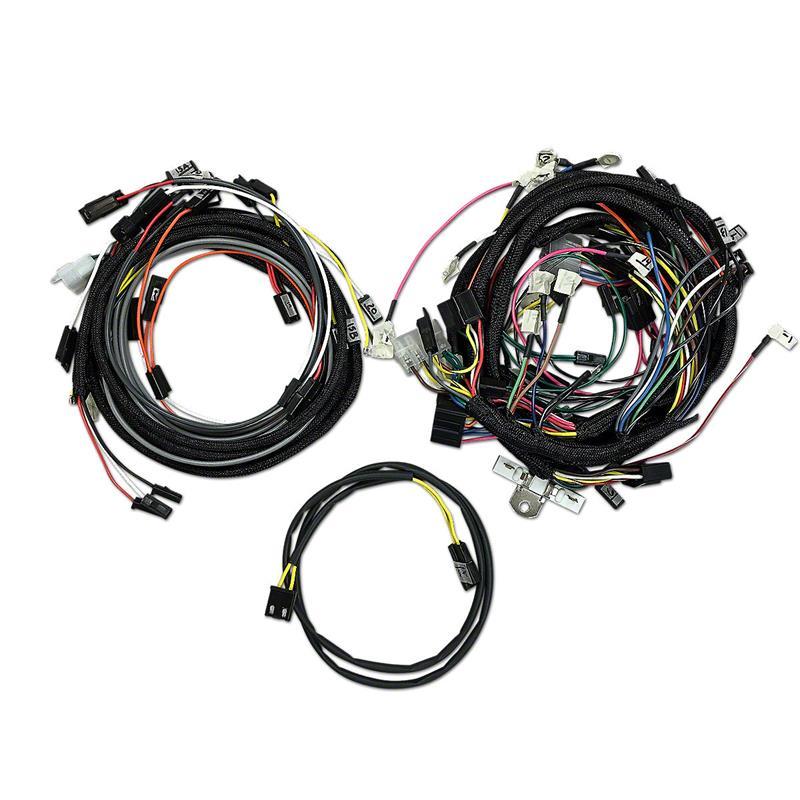 Jds3594 John Deere 3020 Gas Restoration Quality Wiring Harness