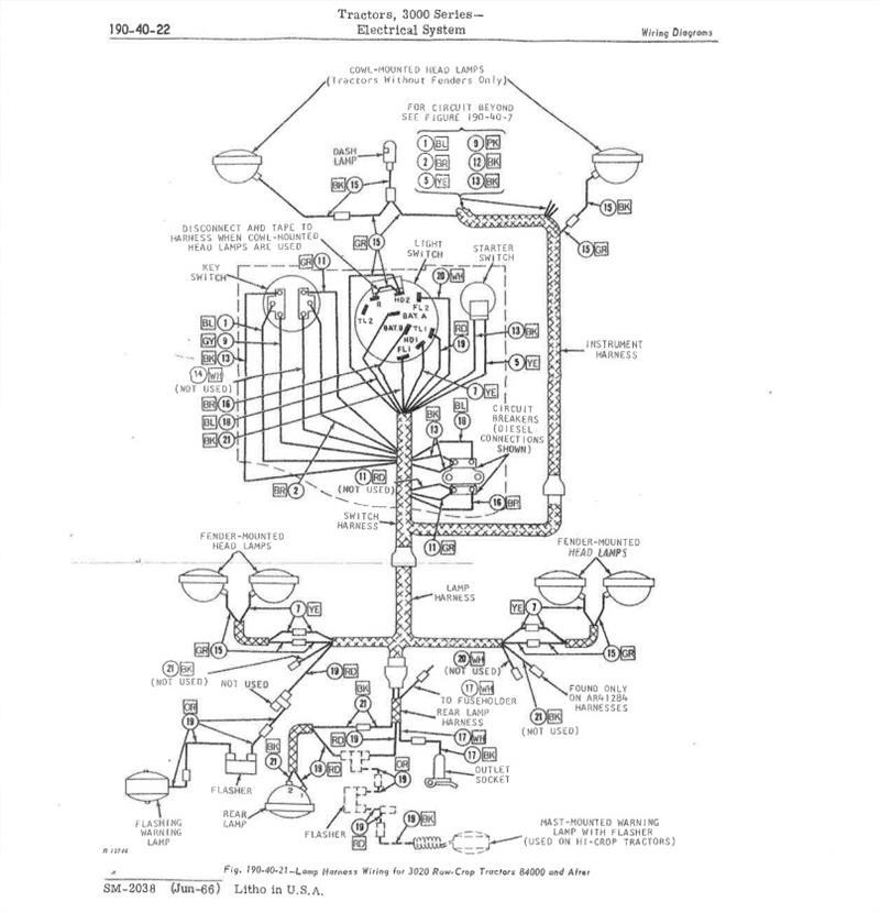 Jds3594 John Deere 3020 Gas Restoration
