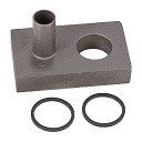ABC1414 Power Steering Pump Port Block With O-Rings