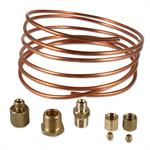 ABC523 Oil Pressure Gauge Copper Line Kit