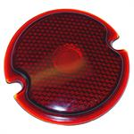 FDS454 Red Glass Tail Lite Lens