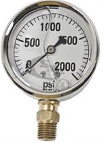 GG2000 Pressure Gauge for Hydraulic Testing 2000 lbs