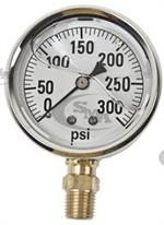 GG300 Pressure Gauge for Hydraulic Testing 300 lbs