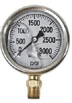 GG3000 Pressure Gauge for Hydraulic Testing 3000 lbs