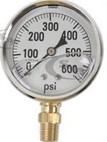 GG600 Pressure Gauge for Hydraulic Testing 600 lbs