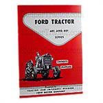 REP1679 Ford 601 and 801 Operator Manual Reprint