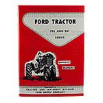 REP1683 Ford 701 and 901 Operator Manual Reprint